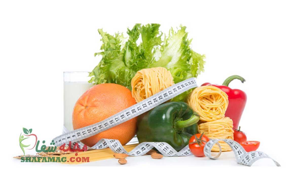 برنامه رژیم لاغری 30 روزه