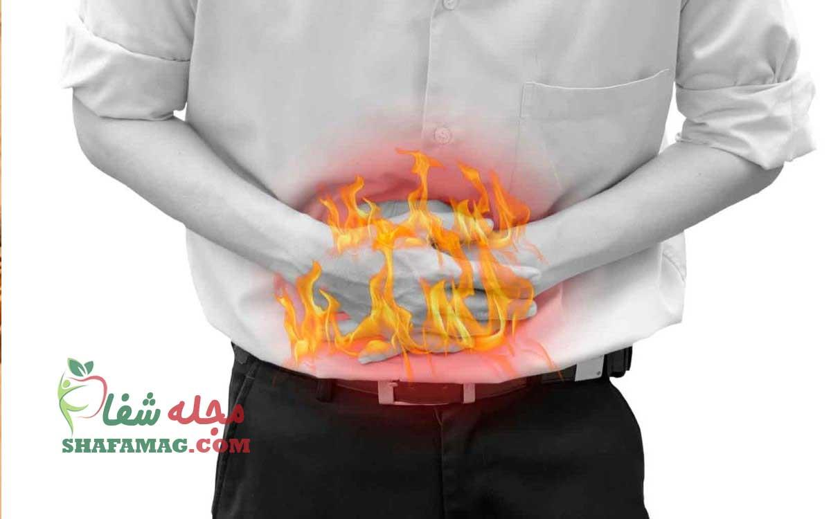 علت سوزش معده بعد از غذا