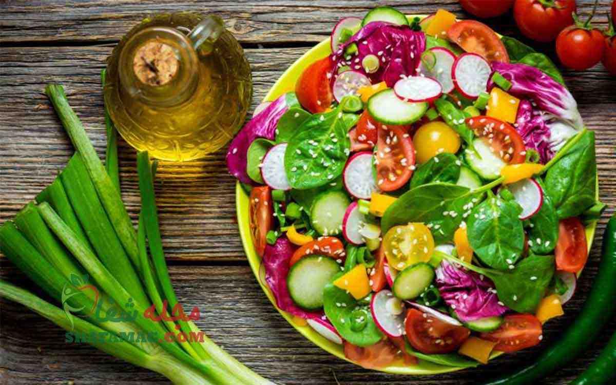 سبزیجات مناسب برای لاغری