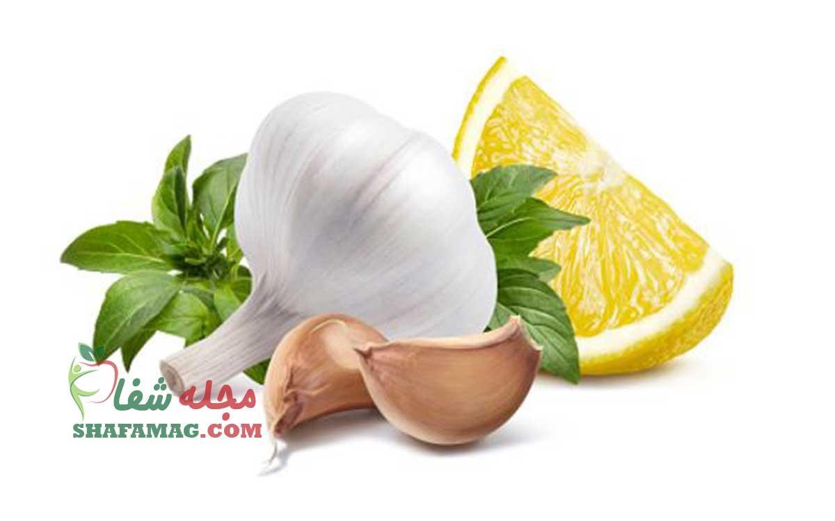 سیر و لیمو برای گرفتگی رگ قلب