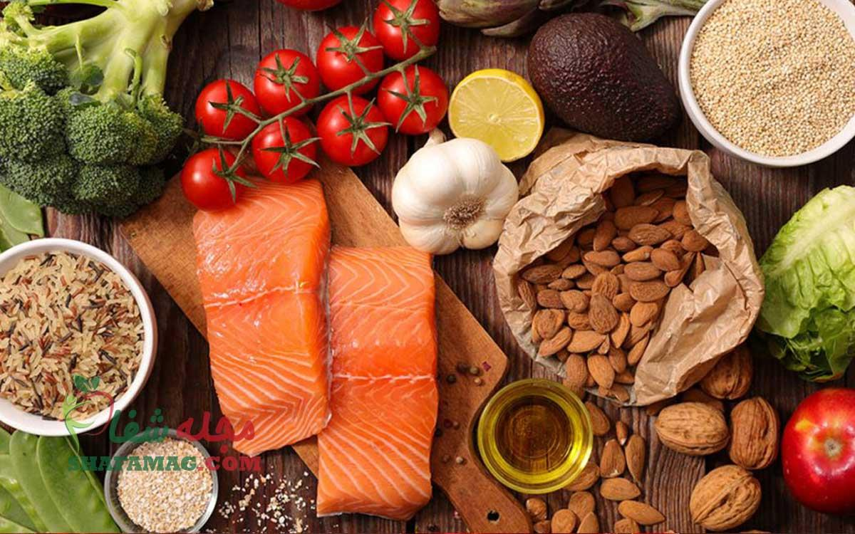 آشنایی با مواد غذایی مفید و مضر برای کبد