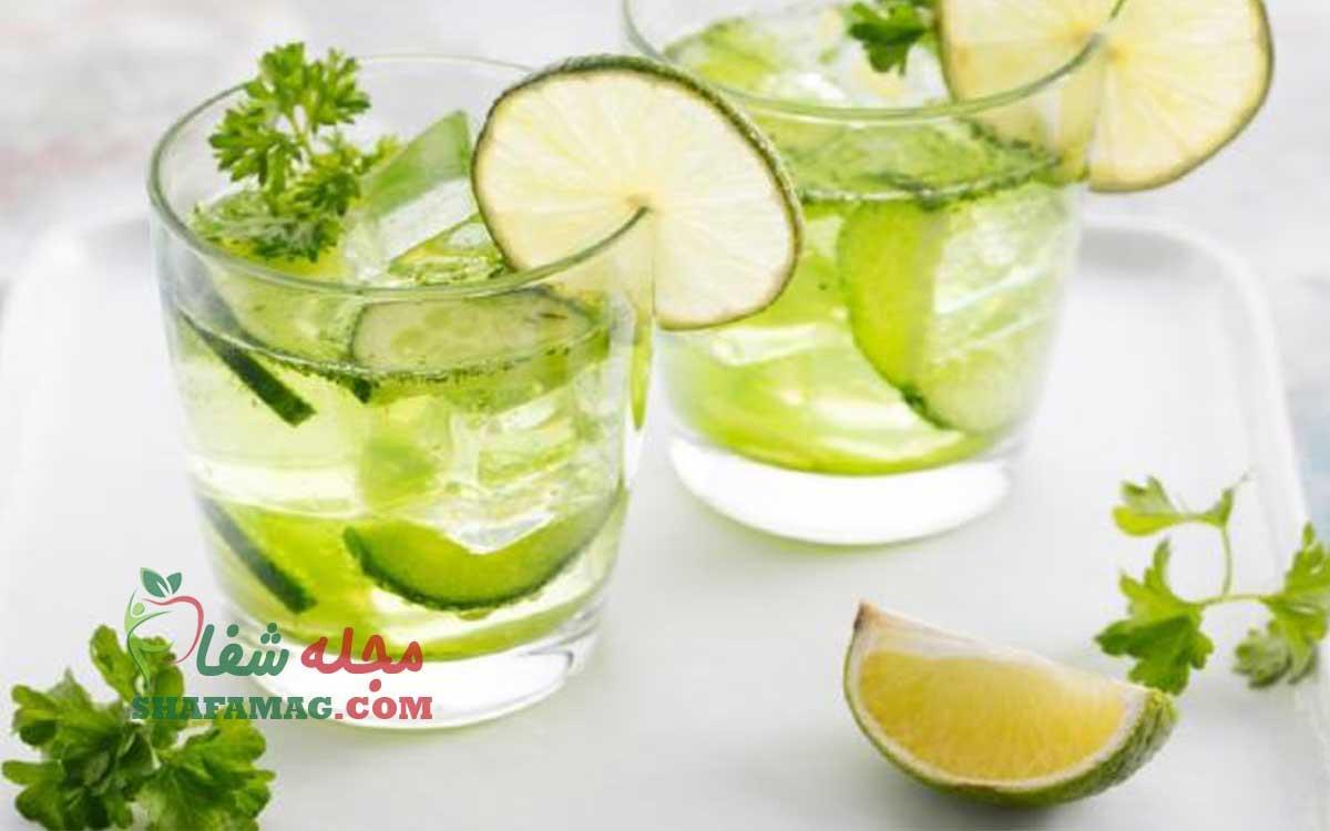 لیمو جعفری برای لاغری