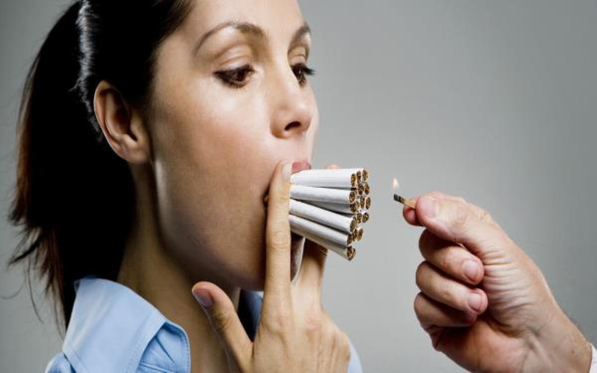 تاثیر سیگار در بدن زنان