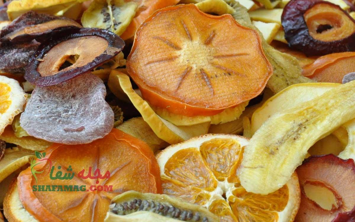 خواص و فواید میوه خشک برای سلامتی