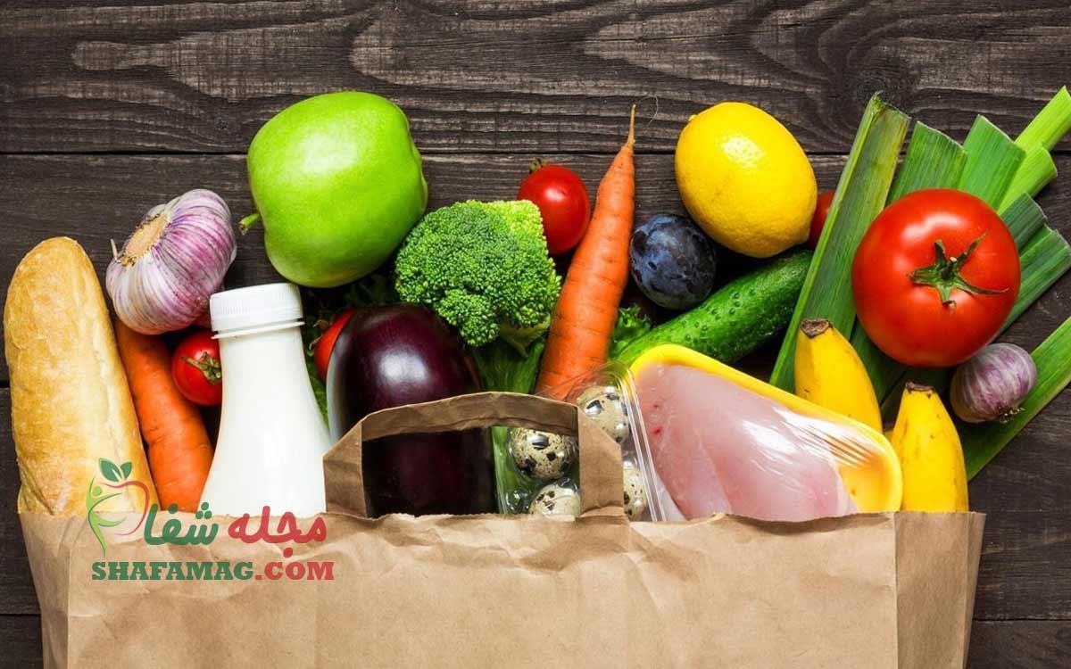 لیست غذاهای سالم: مواد غذایی سالم برای بدن