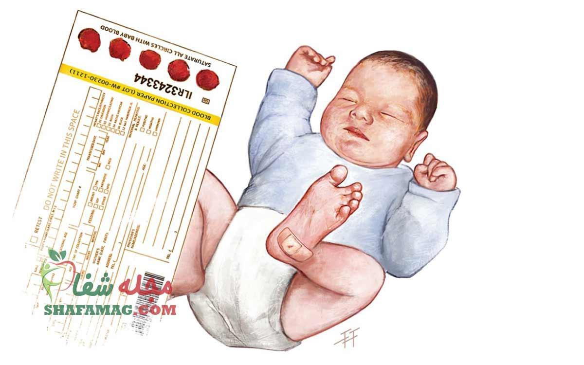 بیماری های شایع در نوزادان