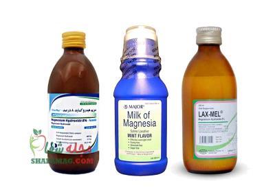 شربت منیزیم هیدروکساید برای درمان یبوست