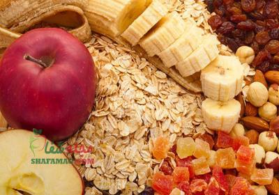 فیبر محلول در چه غذاهایی وجود دارد