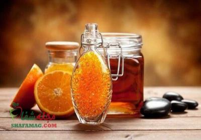 ماسک پرتقال و عسل