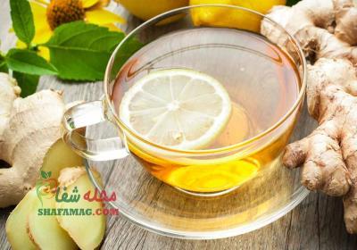 خواص دمنوش زنجبیل و لیمو ترش