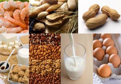 مواد غذایی آلرژی زا کدامند