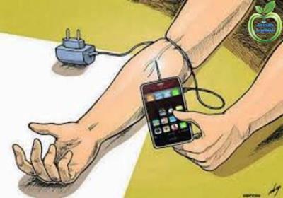 درمان اعتیاد به تلفن همراه