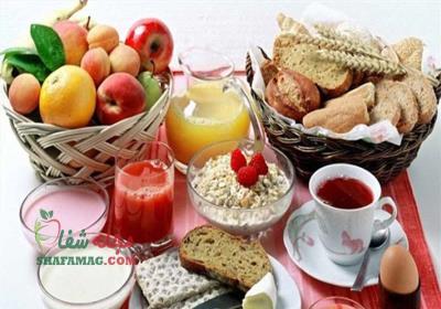 غذاهایی که در ماه رمضان باید خورد