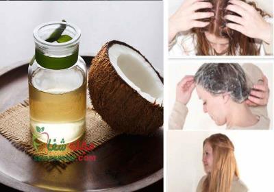 نحوه استفاده از روغن نارگیل برای مو