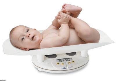مقدار افزایش وزن نوزاد در هر ماه