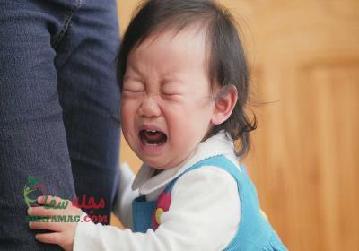گریه نوزاد به چه علت است