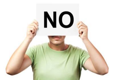 چگونه نه بگوییم